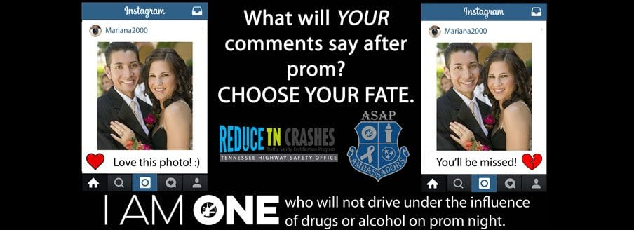 Youth Ambassadors Encourage Peers to be Safe and Sober on Prom Night